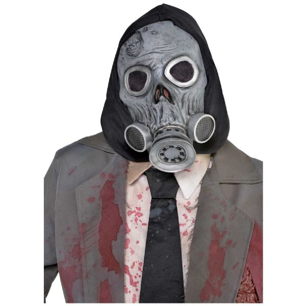 Latex Zombie Gas Mask